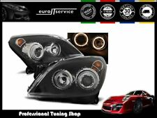 FARI ANTERIORI HEADLIGHTS LPOP72 OPEL ASTRA H 2004-2007 2008 2009 ANGEL EYES