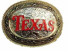 Texas Belt Buckle cowboy cowgirl men women new girly fashion metal western youth