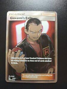 Giovanni's Exile (Full Art) Hidden Fates  67/68 / Ultra Rare NM