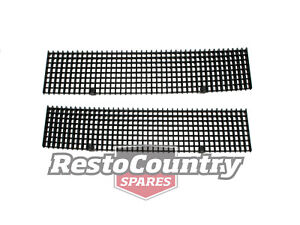 Holden Commodore Bonnet Grille PAIR VH VK x2 Air Vent  Intake  hood