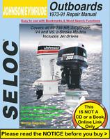 Johnson Evinrude 60HP-235HP Outboard Factory Service Repair Manual 1973-1991