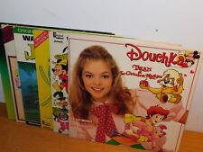 lot 6 LP WALT DISNEY douchka 50 SONGS the rescuers PICKWICK JUNGLE BOOK filmhits