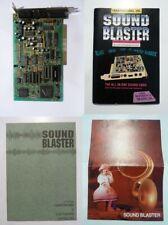 SoundBlaster 2.0 CT1350 ISA-Soundkarte OPL2 geprüft mit Bedienungsanleitung!