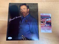 Chuck Norris Autographed 8x10 Photo JSA Witness