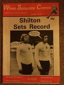 When Saturday ComesJuly 1989 Wimbledon, Chesterfield, Man Utd Greece VGC/Unread