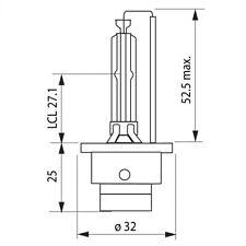 D2S OSRAM Night Breaker Unlimited Xenon 85V Lampe 66240XNB-HCB DUO Set 2 Stück