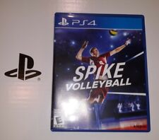 Spike Volleyball for PS4 PlayStation 4 Best Volleyball Simulation Game