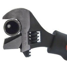 2 in 1 DUAL FUNCTION STUBBY SHORT ADJUSTABLE SPANNER PIPE WRENCH TOOL Amtech1680