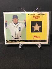 2007 Topps Heritage CC Magglio Ordonez Game Used Bat! Tigers White Sox Rare