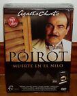 POIROT-MUERTE EN EL NILO-AGATHA CHRISTIE-DVD+LIBRO ORIGINAL-NUEVO-**(SIN ABRIR)*