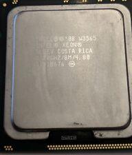 Intel XEON W3565 3.20GHz QUAD CORE PROCESSOR 8MB SLBEV RUNS AS I7 960 ON 1366