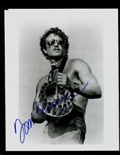 "Tom Berenger signed 8x10"" Black & White photo - Bold Blue Sharpie with 2001 COA"