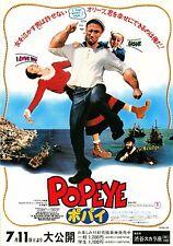 Popeye Japanese Chirashi Mini Ad-Flyer Poster 1980