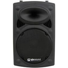 QTX QR12 30.5cm 400w pasivo ABS ALTAVOCES DISCO DJ PA KARAOKE ALTAVOZ INDIVIDUAL