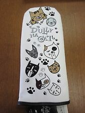 """NEW DULLY NA CAT ANIMAL CAT GOLF DRIVER HEAD COVER """" FAMILY """""""