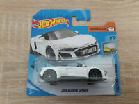 2020 Hot Wheels 2019 Audi R8 Spyder - 1:64 1/64 Factory Fresh 1/10 White