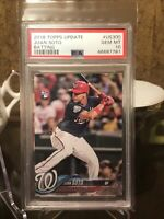 2018 Topps Update Juan Soto RC #US300 PSA 10 Gem Mint Nationals Rookie Card