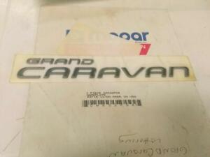 New Genuine Mopar HS32PD8 Decal Plymouth Voyager Caravan Grand Voyager