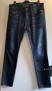 Replay Anbass FC Barcelona Limited Edition Men's Jeans W36 L34