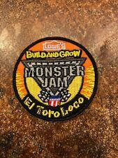 Lowe's Build and Grow Monster Jam El Toro Loco Iron-On Patch