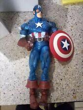 """Marvel Legends: *Captain America* (Masked Variant w/ shield), 12"""", 2006 *Loose*"""