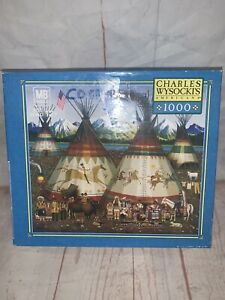 CHARLES WYSOCKI 1000 PIECE PUZZLE THE AMERICANS