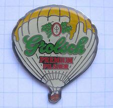 GROLSCH PREMIUM PILSNER / HOLLAND   ..............Bier Ballon Pin (118e)