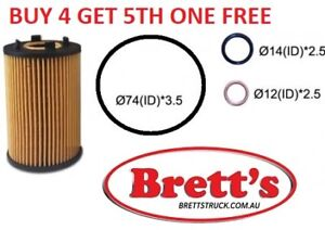 Oil Filter FOR Ssangyong Korando 2.0L 2012 10/12-on  JS FILTERS AT BRETTS TRUCK