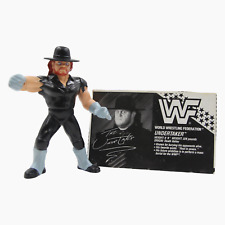 Undertaker WWF Wrestling Figure With Bio Card Hasbro Series 4 1991 WWE WCW U1