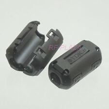 6x TDK black Φ9mm Cable Clamp Clip RFI/EMI/EMC Noise Filters Ferrite Core Case