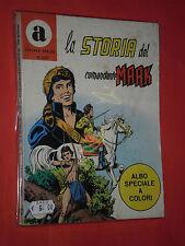 LA STORIA DEL COMANDANTE MARK COLLANA ARALDO- N°100 originale con la - A -COLORI