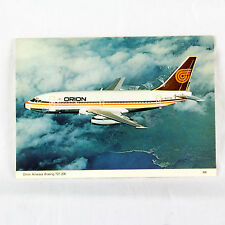 Orion Airways - Boeing 737-200 - G BGTW - Aircraft Postcard - Mint Condition