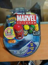 NEW HTF MARVEL UNIVERSE MIGHTY BEANZ 2010 Series 1 4-Pack  Unopened