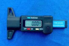 Digital LCD neumáticos perfil cuchillo medidor de profundidad perfil medidor de profundidad 0-25,4mm neumáticos