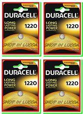 4 Batterie Pile DURACELL CR 1220 DL 1220 CR1220 ECR1220 SB-T13 5012LC L04 PA