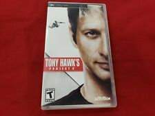 Tony Hawk Project 8 Complete in original case w/ Manual Sony PSP Game