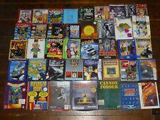 Collection of 40 Atari ST Games and Programs Bundle