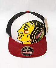 American Needle Chicago Blackhawks Big Logo Snapback NHL Hat