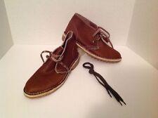 RARE Vintage Bata Safari Cow Hide Leather Boots Men's Size 10 NWOB