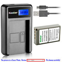 Kastar Battery LCD Charger for Olympus BLS-5 PS-BLS5 BLS-50 & OM-D E-M10 Mark II