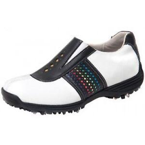 Sandbaggers Golf Shoes: Prisma Black