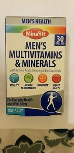 MEN`S -MULTIVITAMINS & MINERALS  WITH AMINO ACIDS,GINSENG & MORE - 30 CAPSULES