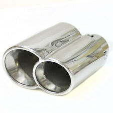 Car Dual Exhaust Tail Twin Pipe Sport Muffler Tip For Porsche 997 911 2007 2004