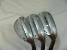New Cleveland RTX 3 Tour Satin Wedge set 52* AW 56* SW 60* LW Rotex 3 wedges