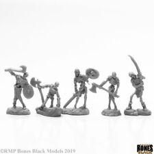 Reaper Bones Black: 44115 Bog Skeletons (5) - Plastic Mini
