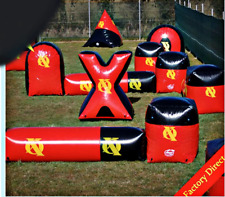 20 Piece Commercial Inflatable Paintball Bunker Bounce Arena Maze Sports Game