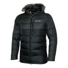 New Columbia Men's Northridge Lodge Omni Heat 700 Fill Down jacket coat Black Sz