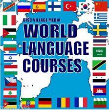 28 populaire cours de langue sur 4 dvd's écouter + apprendre sys MP3 Audio / fichiers texte