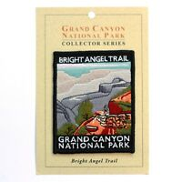 Official Grand Canyon National Park Souvenir Patch Bright Angel Trail Arizona