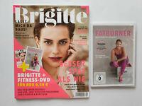 Brigitte Nr.9/2019 Besser spät als nie, mit DVD Fatburner  ungelesen,TOP Zustand